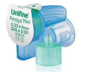 Unifine Pentips Plus - Pennadel mit integrierter Abwurfkammer